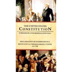 ConstitutionOfTheUnitedStatesRonPaulIntro