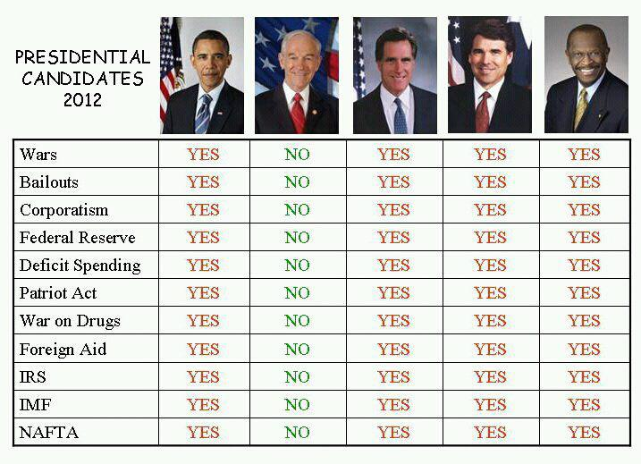 Ron Paul supporters, where do you stand on these issues?